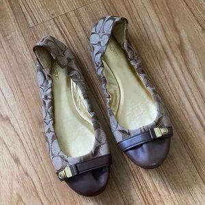 Coach Signature Delphine Ballet Slips